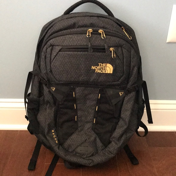 9a8c1def8 The North Face Bags | North Face Womens Recon Backpack Black And ...